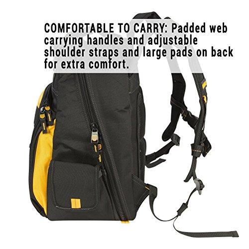 DEWALT DGL523 Lighted Tool Backpack Bag, 57-Pockets by DEWALT (Image #8)