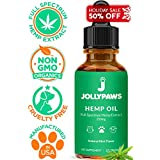 Hemp Oil for Dogs and Cats - Full Spectrum Hemp Extract - All Natural Pain Relief for Dogs, Stress & Anxiety Support, Calming, Hip, and Joint Health - Grown in The USA (Mint)