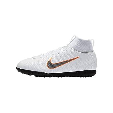 c7fe5fe488b72 Nike - JR Superfly 6 Club TF - AH7345107 - Color  White - Size  3.0 ...