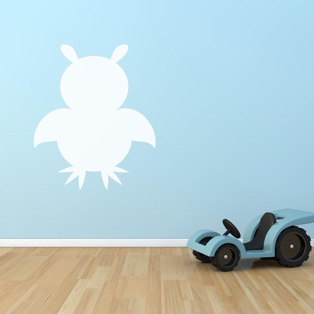 Supertogether freddo secco cancellare decorazione della stanza dei bambini della parete sala giochi da tavolo per bambini 542 x 650 mm WHITEBOARD-OWL-R