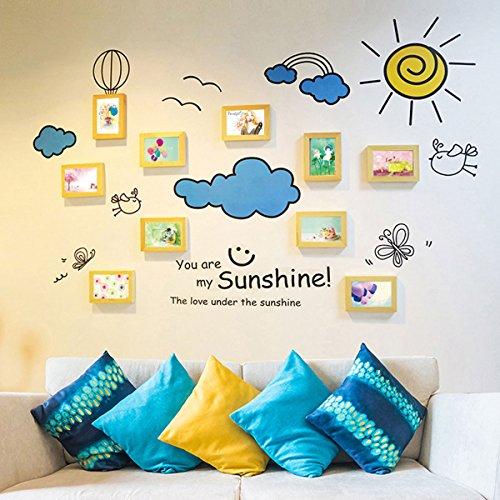 Mbd Photo Frame Collage 10 Frame Cartoon Photo Wall Frame Combination  Children Room Living Room Bedroom