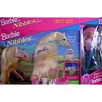 Barbie & Nibbles Horse Set de regalo con Horse Lovin 'Barbie Doll (Edición especial) y Nibbles Horse w Picnic Set (1995)