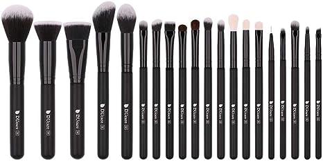 DUcare Brochas de Maquillaje 20 Piezas Premium Brochas Maquillaje ...