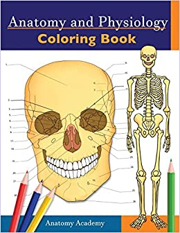 Anatomy And Physiology Coloring Book Incredibly Detailed Self Test ...