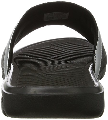 Under Armour Herren Spielmacher VI Slide Schwarz / Metallic Silber