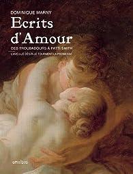 Ecrits d'amour par Dominique Marny