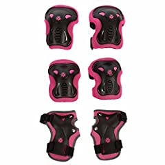We are professional on Sport Equipment set. Impact Resistance Tough and durable PP, PE materials with breathable Polyester sleeves offers you safe sports playing experience. Multi Sports Gear Suitable for Skateboarding Scooter Roller Skate In...
