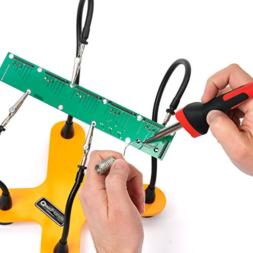 QuadHands Helping Hands Third Hand Soldering Tool and Vise - Four Flexible Metal Arms Can Be Positioned Exactly Where You Want - Professional Grade by QuadHands (Image #7)