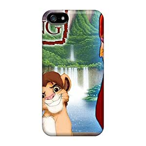 Tpu NikRun Shockproof Scratcheproof Simba The Lion King Hard Case Cover For Iphone 5/5s