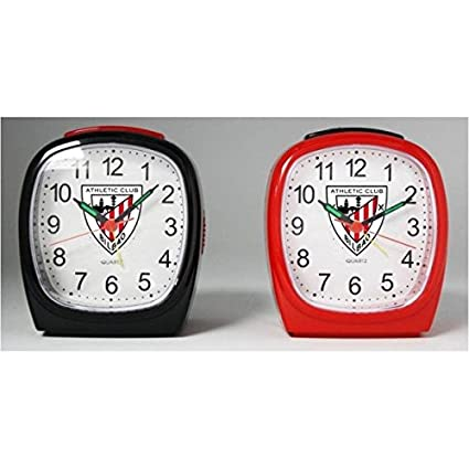 Athletic Club de Bilbao - Reloj despertador RE02AC01 - Negro
