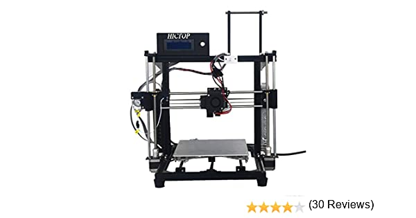 24V Impresora 3D Prusa I3 HICTOP porciones de DIY Kits 3DP-11 ...