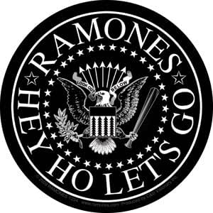 Amazon Com The Ramones Punk Rock Music Band Sticker Hey