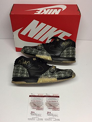 6bcbf0434c00a Bo Jackson Dual Signed Nike Air Trainer 1 PRM QS *Paid in Full* Shoes - JSA  Certified - Slabbed Football Cards