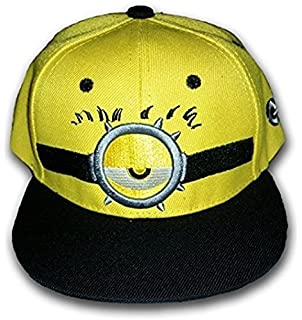 b45392aa344 LiveOut Minion Kids Hip-Hop Baseball Cap with Adjustable Snapback - Kids Baseball  Hat -