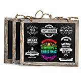 butler s pantry Cade Vintage Framed Kitchen Chalkboard - Decorative Chalk Board for Rustic Wedding Signs, Kitchen Pantry & Wall Decor (3packs, 9.5*12in)