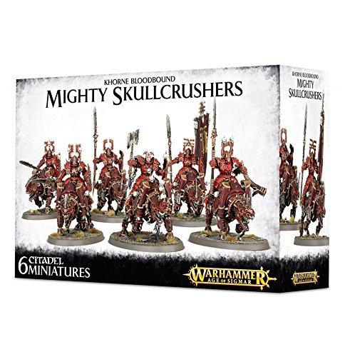 WARHAMMER 40k: Khorne bloodbound Mighty Skullcrushers by Citadel B0161KVVB4