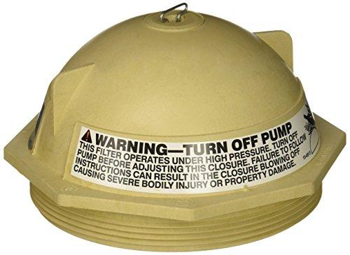Pentair 154559 6-Inch Black V Thread Closure Replacement Triton II Pool and Spa Fiberglass Sand Filter