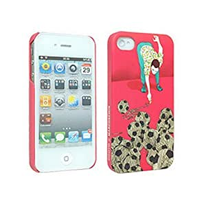 Odoyo X Marcos Chin Series Silly Soccer Hard Case for Apple iPhone 4/4S