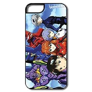 Evangelion Safe Slide Case Cover For IPhone 5/5s - Art Case