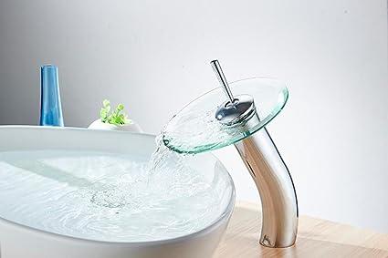 Rubinetto a cascata diffuso rubinetto per lavabo da bagno con