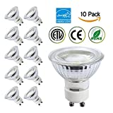 led 35 watt gu10 - Energy-SL GU10 LED,5W(35W Equivalent) Dimmable Bulbs,4200K Daylight Glow,36 Degree Beam Angle,CRI 80+,120V,450 LM,ETL Listed and ENERGY STAR Qualified,Pack of 10