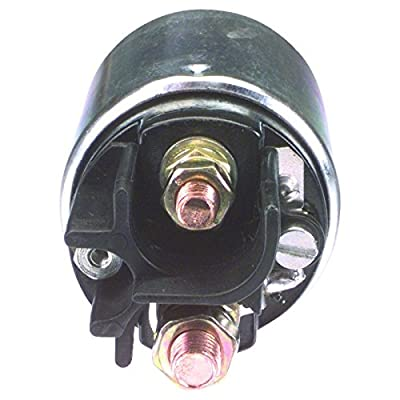 New 12V Starter Solenoid For 2001 Case, 1991-00 Ford, 1992-05 John Deere, 1991-07 New Holland Industrial 3-Terminal 0 331 402 106, 0 331 402 606: Automotive