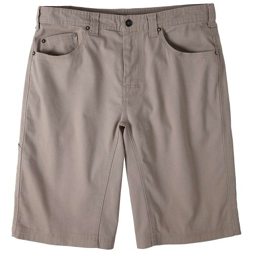 prAna Living Men's Bronson 11-Inch Inseam Shorts, Khaki, 28