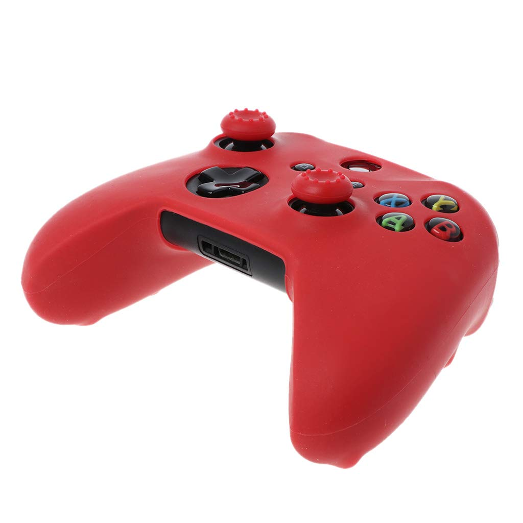 FangWWW Protective Cover Cap Analog Thumb Sticks Grip Soft Silicone Case Anti-Slip Waterproof for XBOX Ones Gamepad Controller