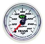 Auto Meter 7357 NV 2-1/16'' 100-260 F Full Sweep Electric Transmission Temperature Gauge