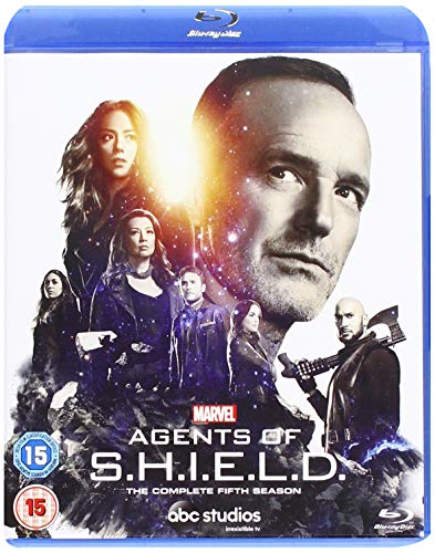 Marvels Agents Of S.H.I.E.L.D. SEASON 5 [BLU-RAY] [2018] [Region Free]