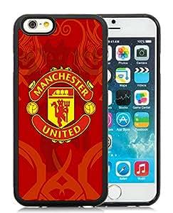 iPhone 6 4.7 inches Manchester United 6 Black Screen TPU Phone Case Genuine and Newest Design