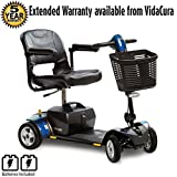 Pride Go-Go LX CTS Suspension 4-Wheel Scooter 18AH Battery Including 5 Year Extended Warranty
