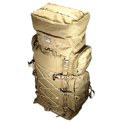 30″ 4800 cu. in. Tactical Hunting Camping Hiking Backpack THB002 TAN Review