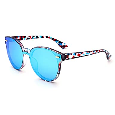 Meijunter Polarisiert Sonnenbrille Runden Rahmen Eyewear UV400 Anti-Glare Brille Brille Jahrgang Retro jLKy1lwdpK