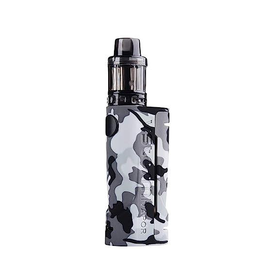 Vapor Storm ECO Max 90W Atomizer D11 3.5ml Disposable Graffiti Bypass Box Mod Vape 510 Starter Kit E-Cigarette Grey