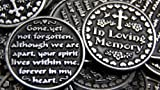 Set of 10 In Loving Memory Pocket Token Coins