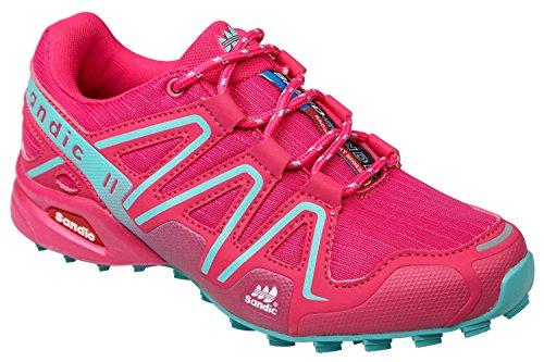 gibra - Zapatillas de Material Sintético para mujer Rosa - Pink/Türkis