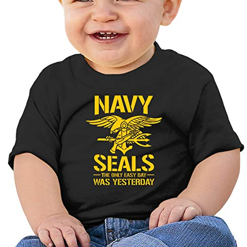 LUCIFA BAY Navy Seal Logo Children's T Shirt Baby Boys Girls Tee Infant Toddler T-Shirt