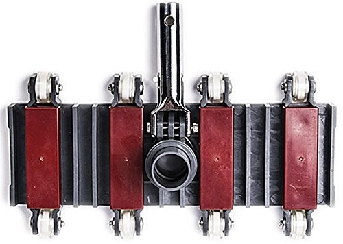 well2wellness® Bodensauger / Poolsauger '8-Rad POWER Flex'
