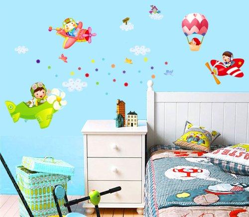 Sticker pareti bambini interesting stencil cameretta bambini camerette da stampare per cucina - Stickers bambini ikea ...
