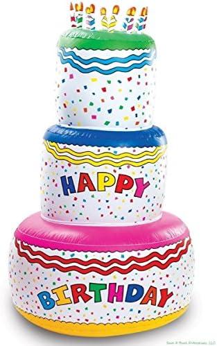 Amazon.com: 6 foot altura – Blow Up inflable para tarta de ...