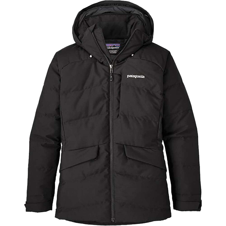パタゴニア アウター ジャケットブルゾン Patagonia Women's Pipe Down Jacket Black lhm [並行輸入品] B0779NTY9J