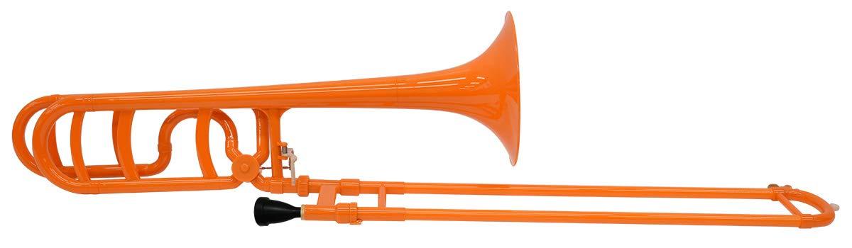 ZO ゼットオー プラスチック製テナーバストロンボーン(太管) TB-08 カラー:シャンパンゴールド B07JW141H7 オレンジ  オレンジ