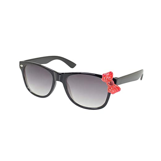 7d5e5290197b Amazon.com: Kids Cute Kitty Cat Bow Clear & Tinted Lens Glasses Age ...