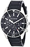 Jacques Lemans Unisex KC-104A Kevin Costner Collection Analog Display Quartz Black Watch