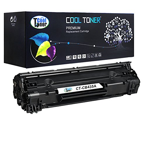 Cool Toner 1 Pack Compatible HP CB435A 35A Black Toner Cartridge Used For HP LaserJet P1005,P1006,P1007,P1008,P1009 (Hp Cb435a)