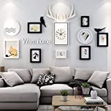 WUXK The Nordic watch photo wall decoration living room wall photo frame wall restaurant creative combination photo frame wall photo Wall 4