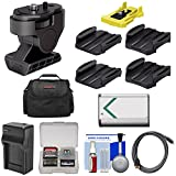 Sony VCT-TA1 Action Cam Tilt Camcorder Mount Adapter & VCT-AM1 Adhesive Pack with NP-BX1 Battery + Charger + Case + Kit