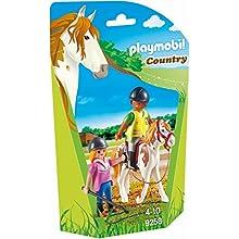 Playmobil-9258 Profesor de Equitación, Multicolor (9258)