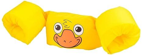 Braccioli 2 Anni.Sevylor Braccioli Bambini Puddle Jumper Supporto Per Nuoto Per 2 5 Anni 15 30 Kg Giallo Scuro Anatroccolo